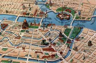 Астрологическая карта Санкт-Петербурга