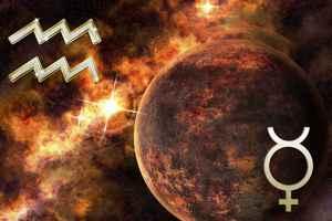 Меркурий в Водолее возвращается в Водолей. Март 2020.